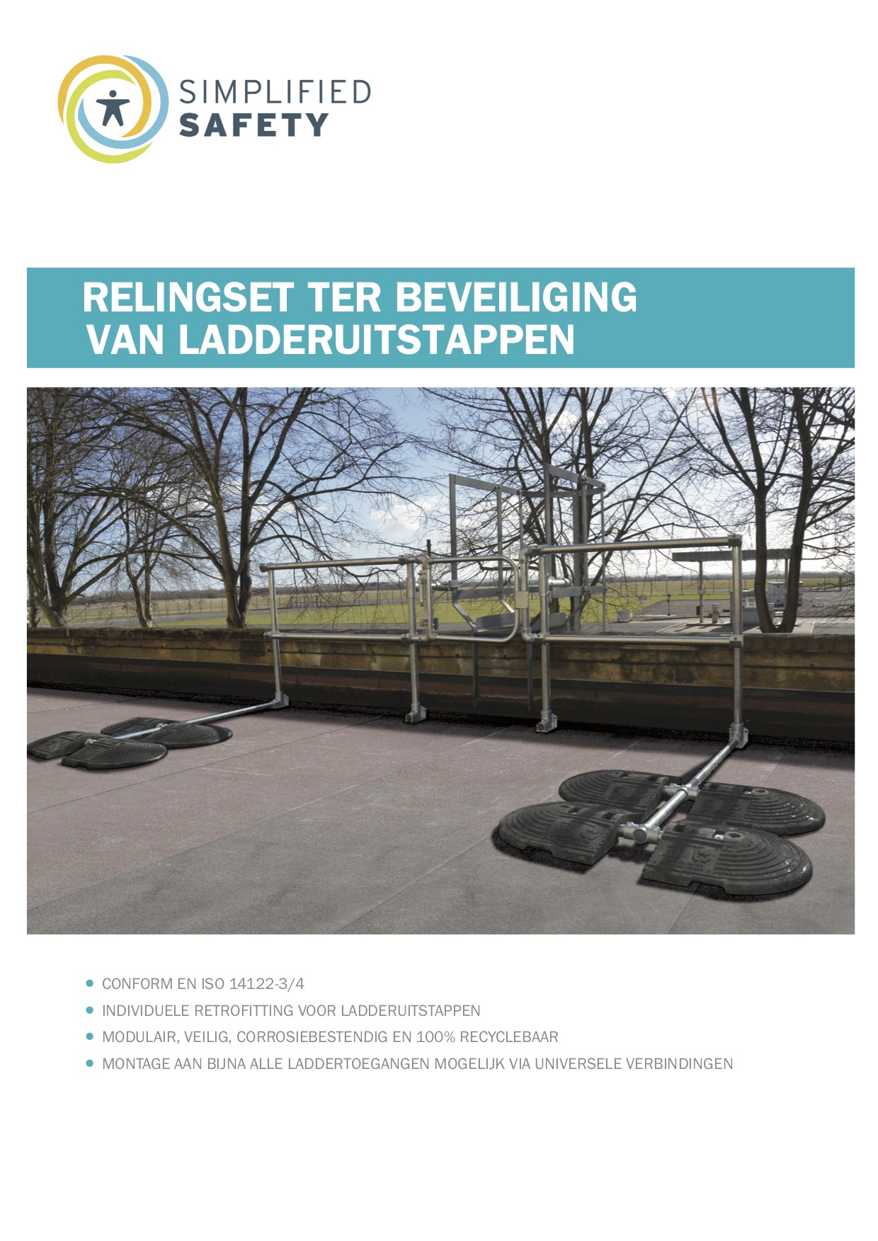 Ladderbeveiliging brochure cover